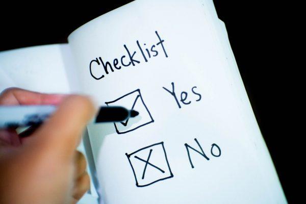 Scrum events checklist